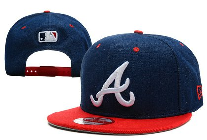 Atlanta Braves Snapback Hat XDF 140802-01